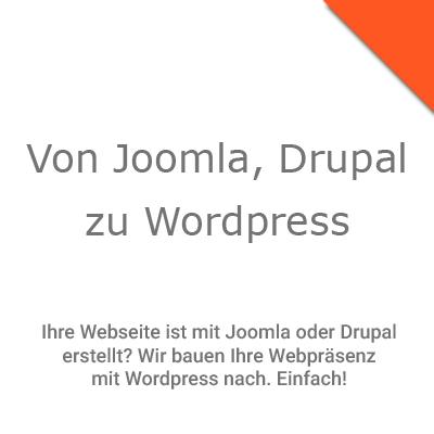 Webseitennachbau mit Wordpress
