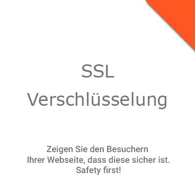 Webseiten SSL Verschlüsselung