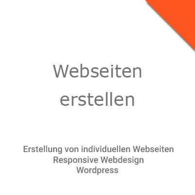 Webseiten erstellen